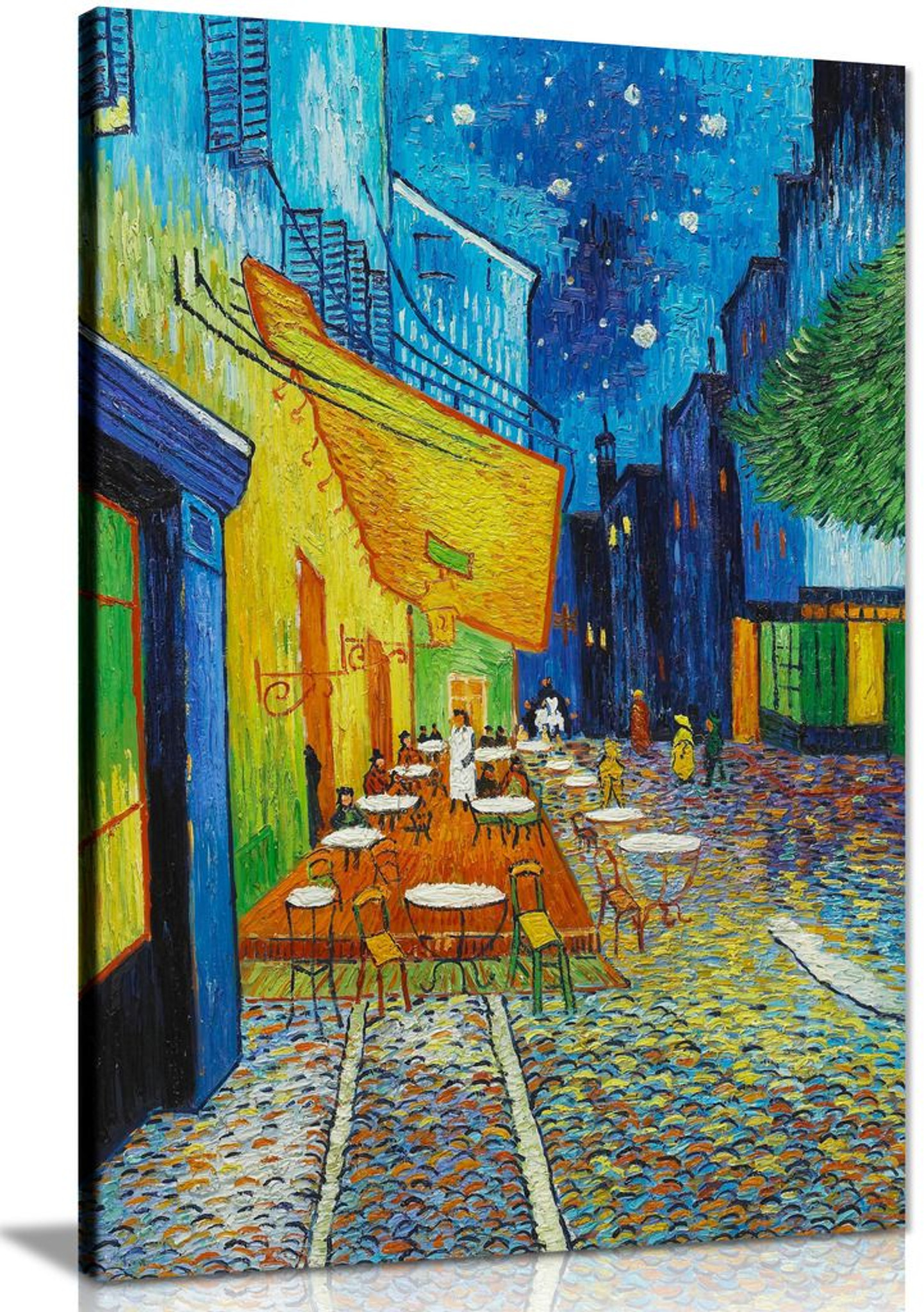 Vincent Van Gogh The Cafe? Terrace On The Place Du Forum Canvas