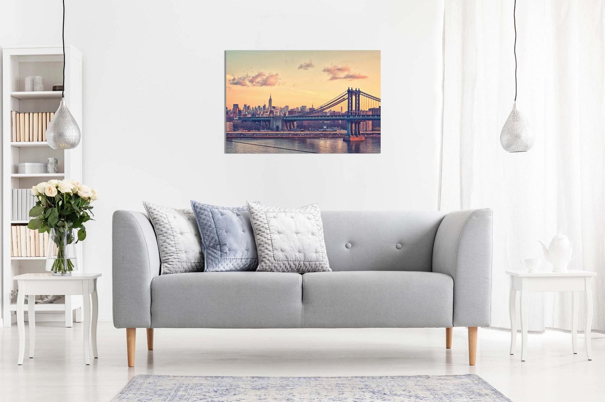New York Manhattan Bridge Canvas