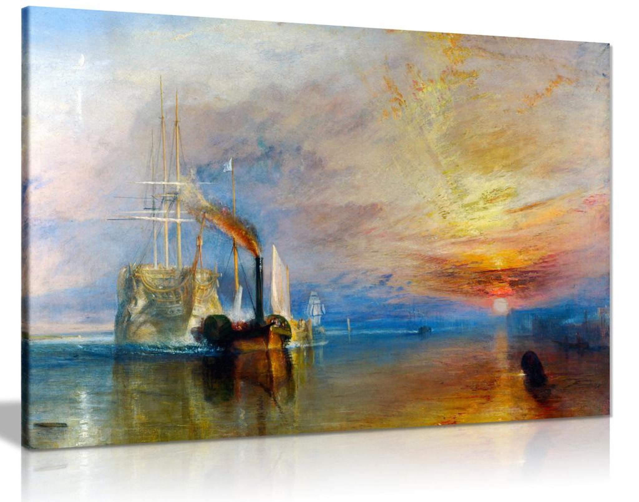 J.M.W. Turner Fighting Temeraire Deception Canvas