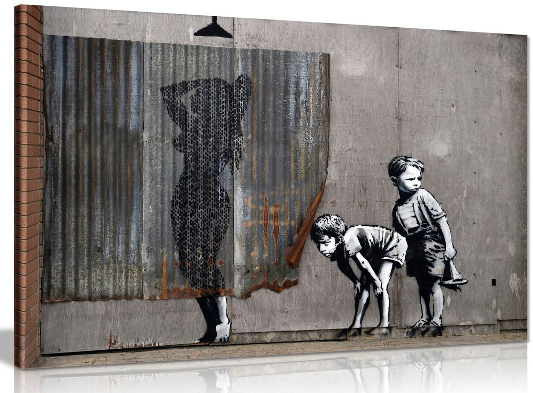 Exposed Kids Banksy Dismaland Canvas