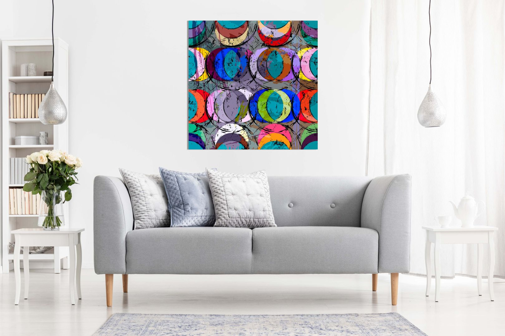 Abstract Geometric Canvas