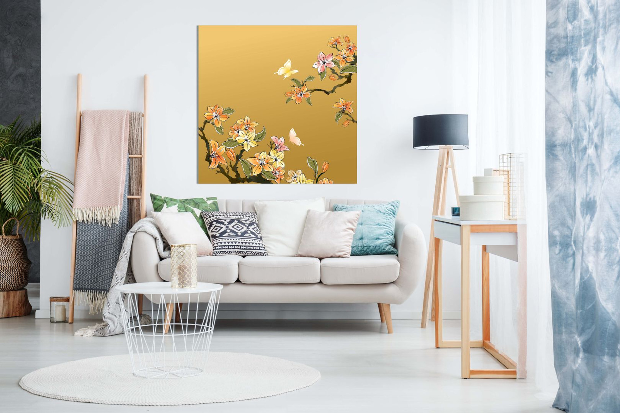 Traditional Chinese Oriental Canvas