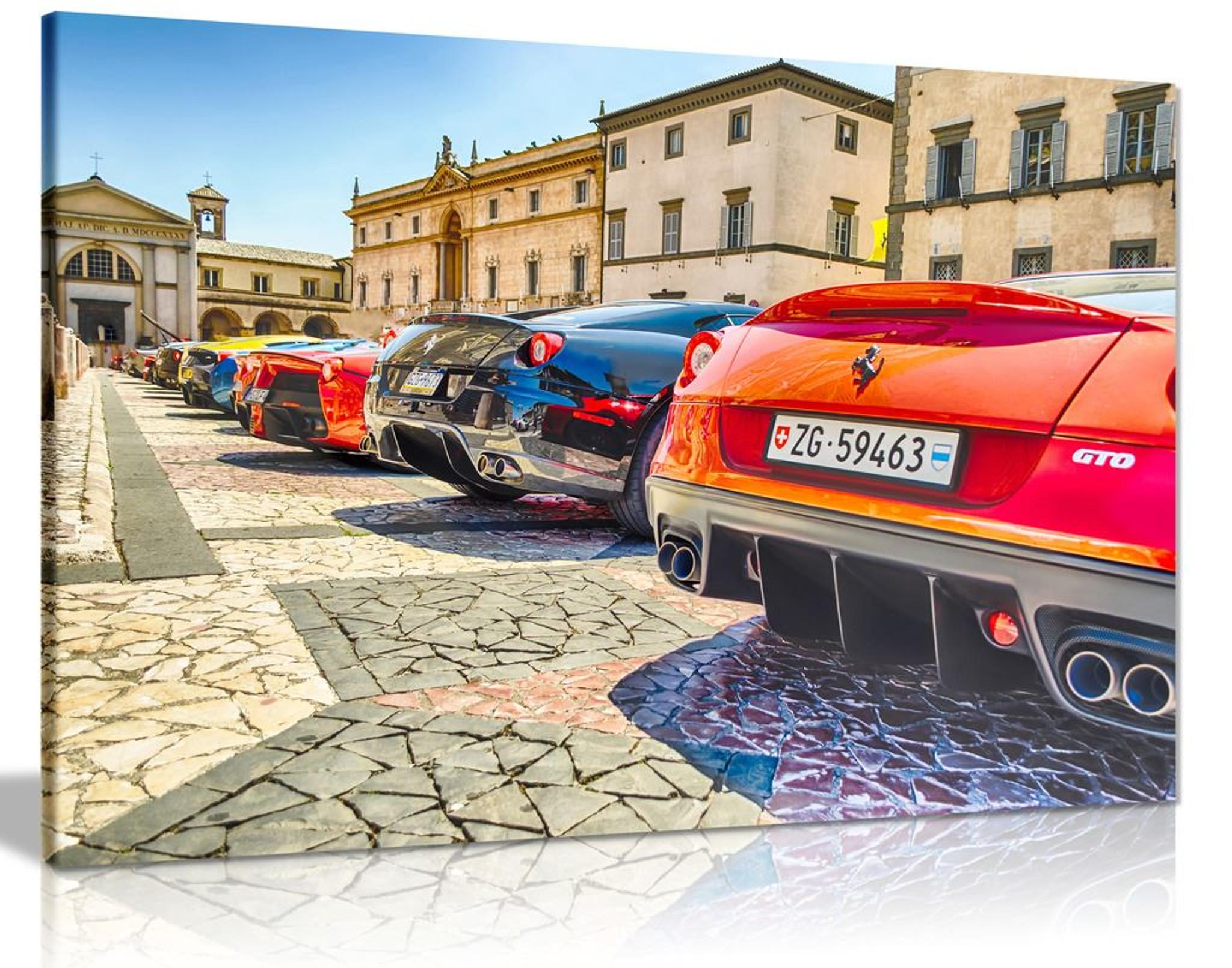 Ferraris Row Supercars