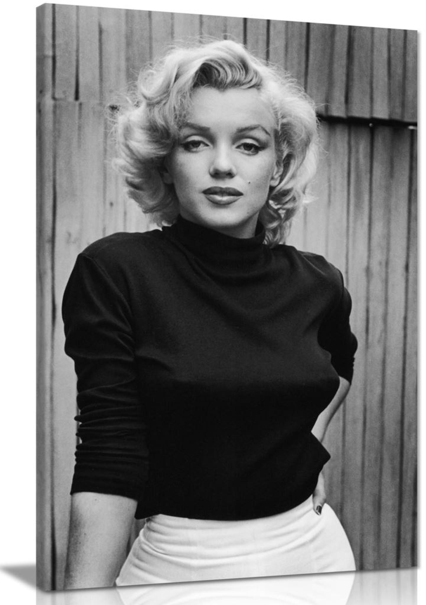 Marilyn Monroe Fashion Shoot Canvas
