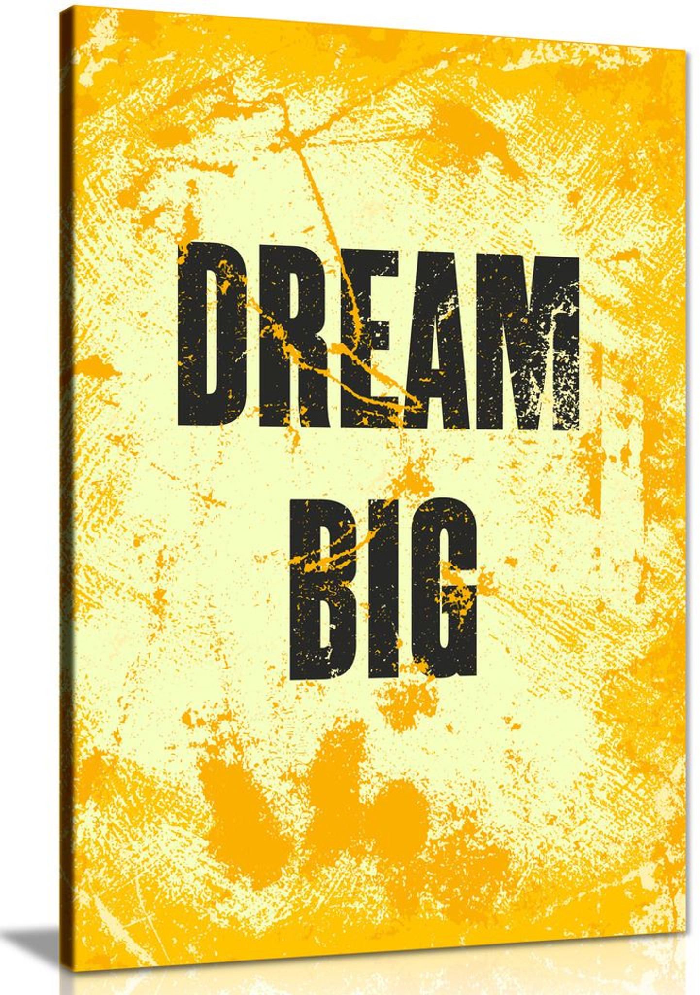 Inspiring Motivation Quote Dream Big Canvas