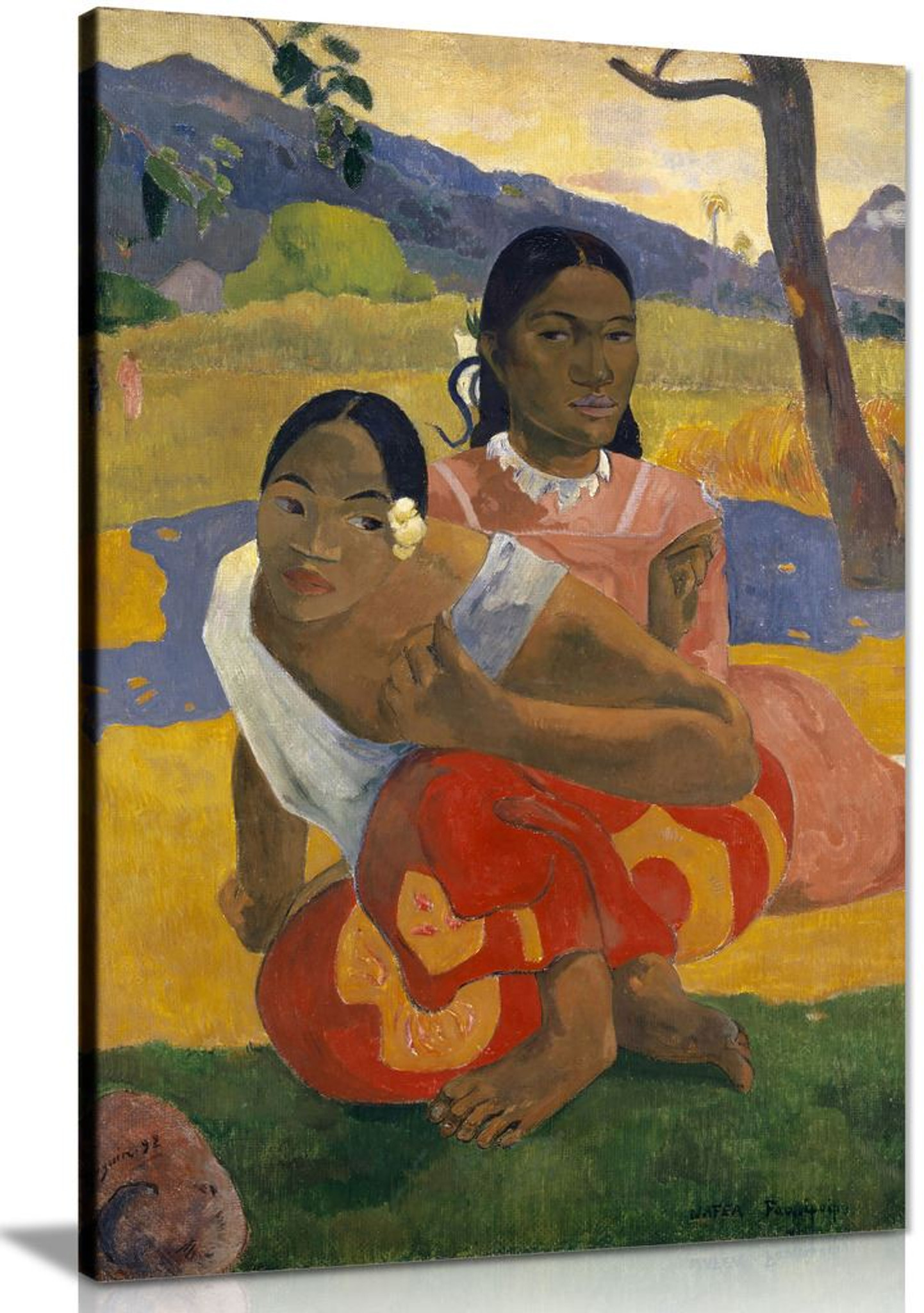 When Will You Marry Paul Gauguin Canvas
