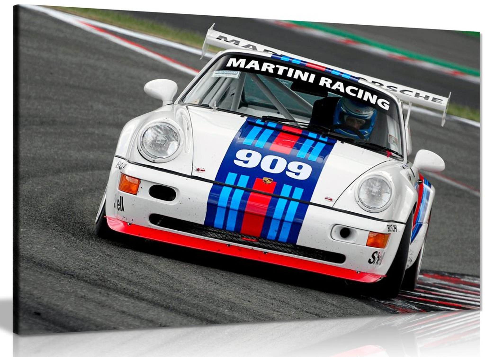 Martini Racing Porsche Sebastien Loeb Canvas