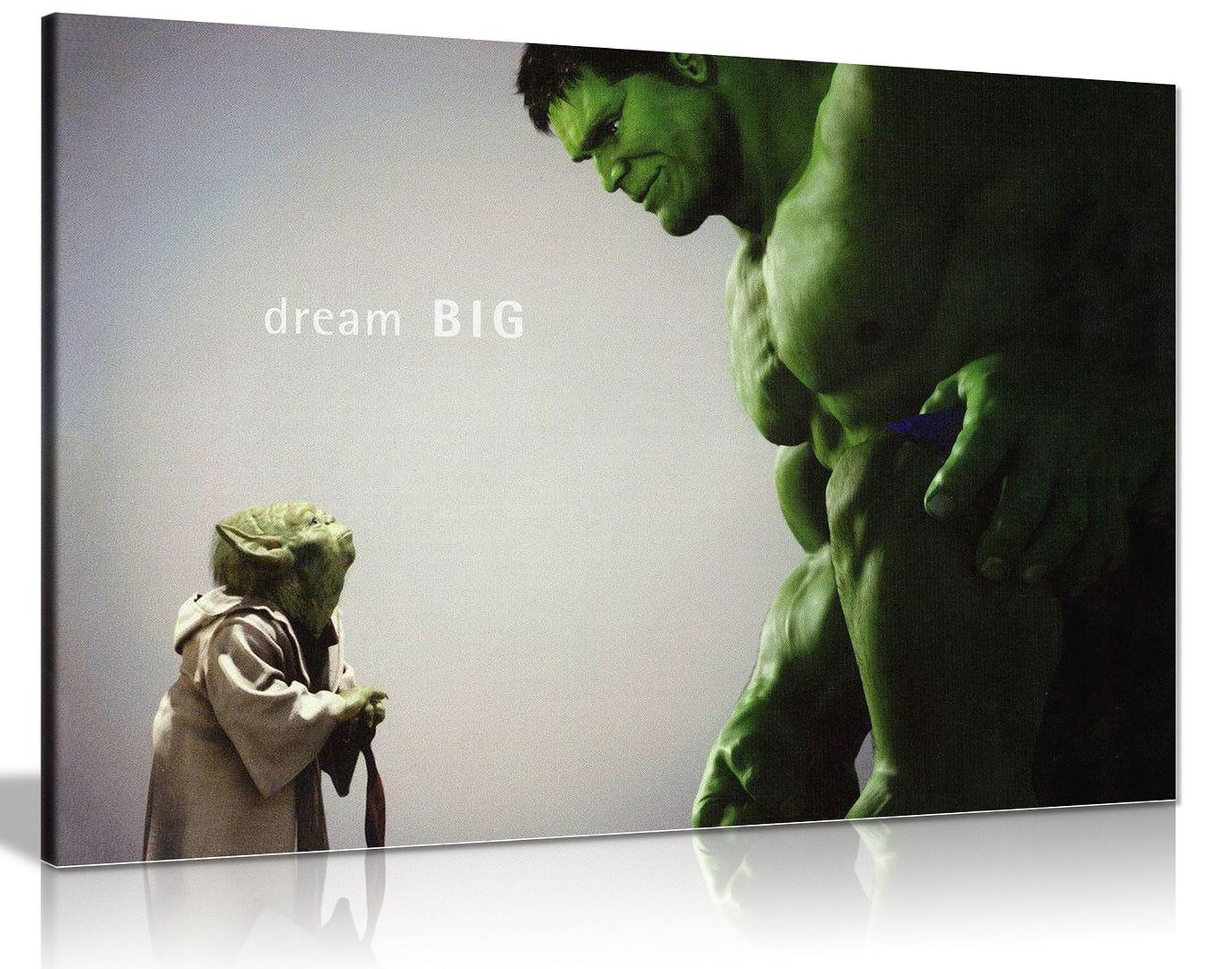 The Hulk Comic Book Movie Canvas