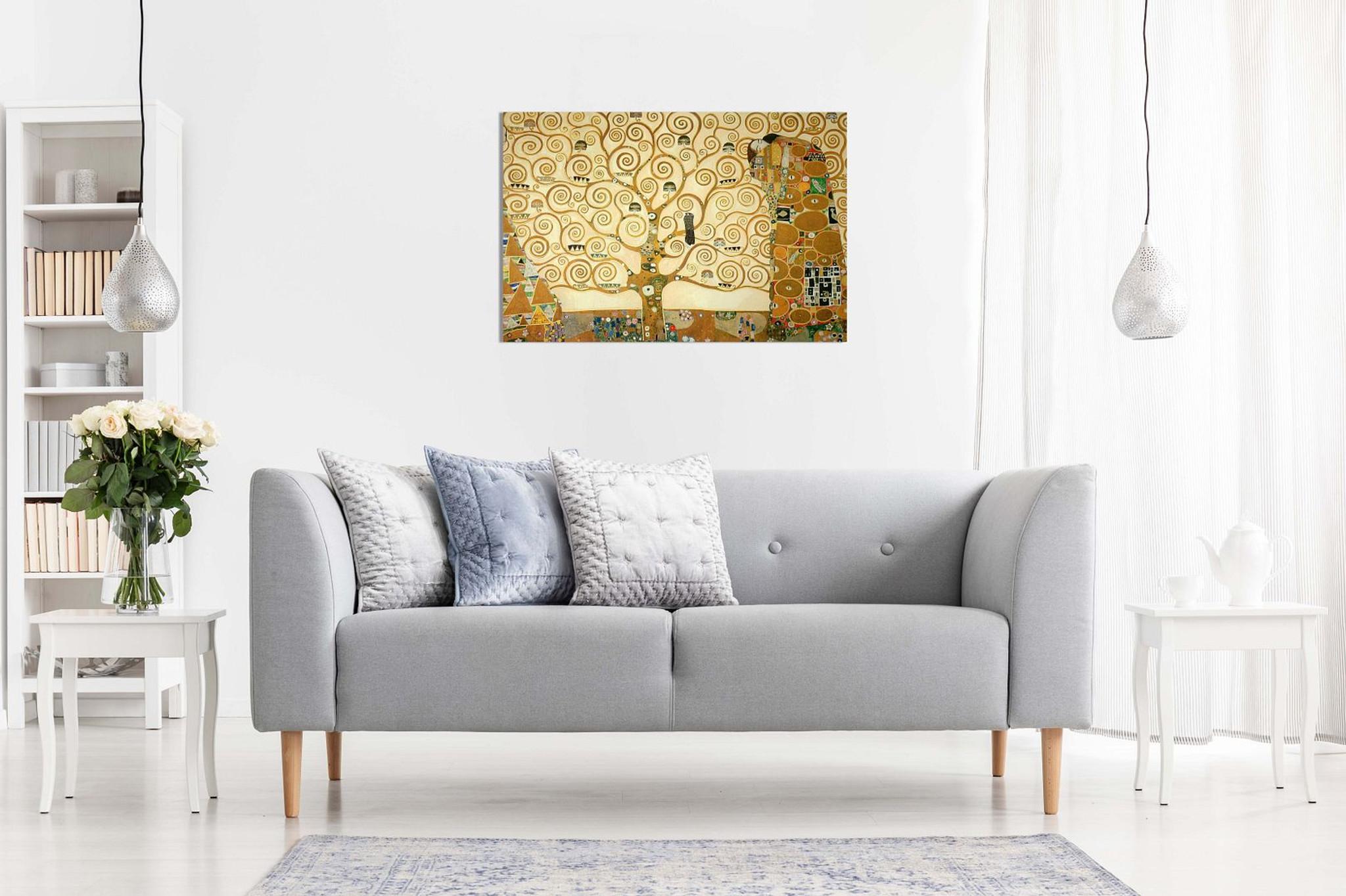 Gustav Klimt The Tree Of Life Canvas