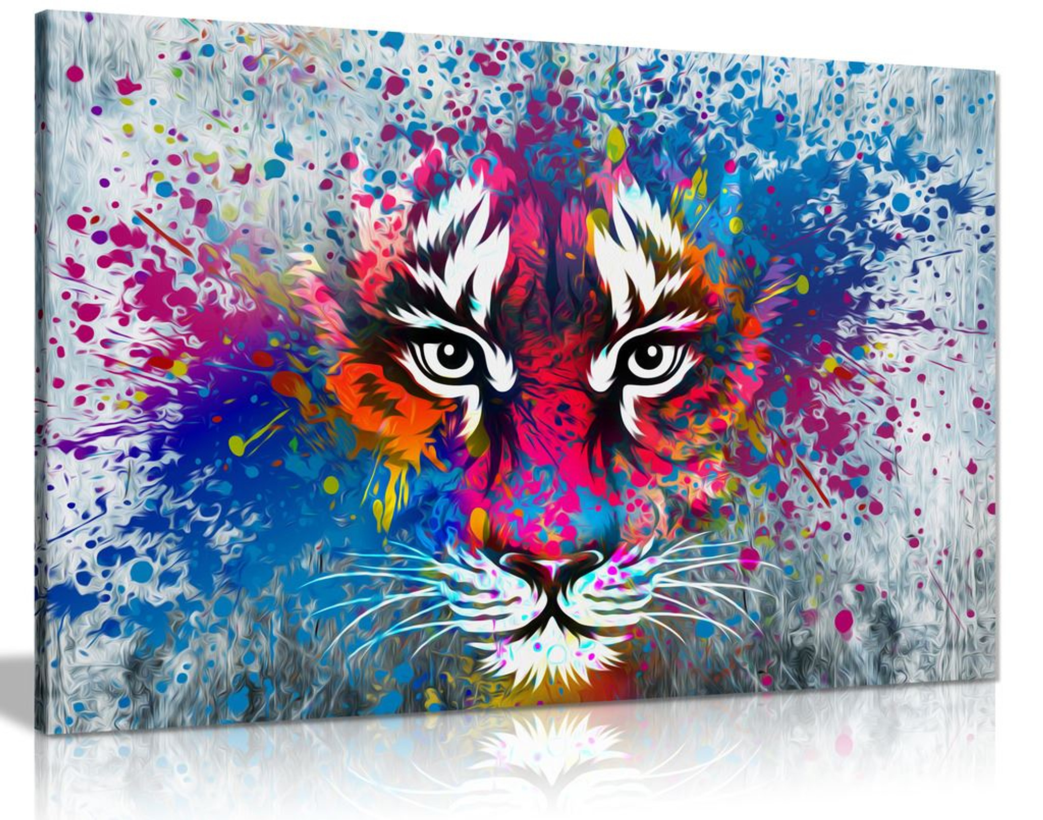 Tiger Art Canvas Wall Art Picture Print