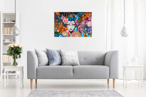 Psychedelic Trippy Art Canvas