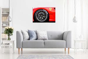 Ferrari 599 Racing Wheels Canvas