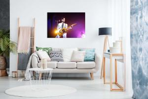 Prince Purple Rain Tribute Canvas