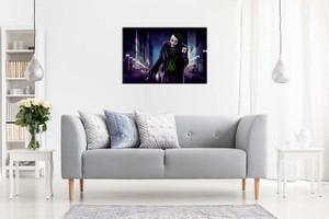 Joker & Card Batman Canvas