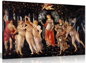 Allegory Of Spring By Botticelli Canvas