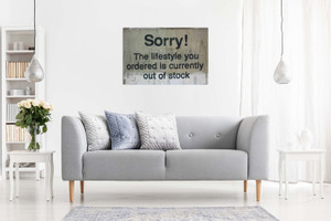 Banksy Lifestyle Quote Canvas