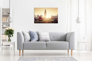 Westminster Bridge At Sunset London Canvas