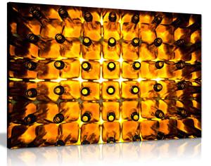 Alcohol Whiskey Bottles Bar Pub Canvas
