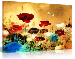 Chinese Canvas Art Floral Canvas