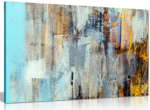 Abstract Modern Contemporary Home Canvas