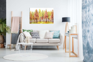 Wall Pictures For Living Room Trees Painting Canvas