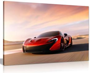 Mclaren P1 Supercar Canvas