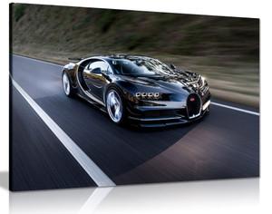 Bugatti Chiron Hypercar Canvas