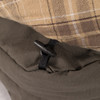 Toggle buttons for easy attachment to sleeping bag