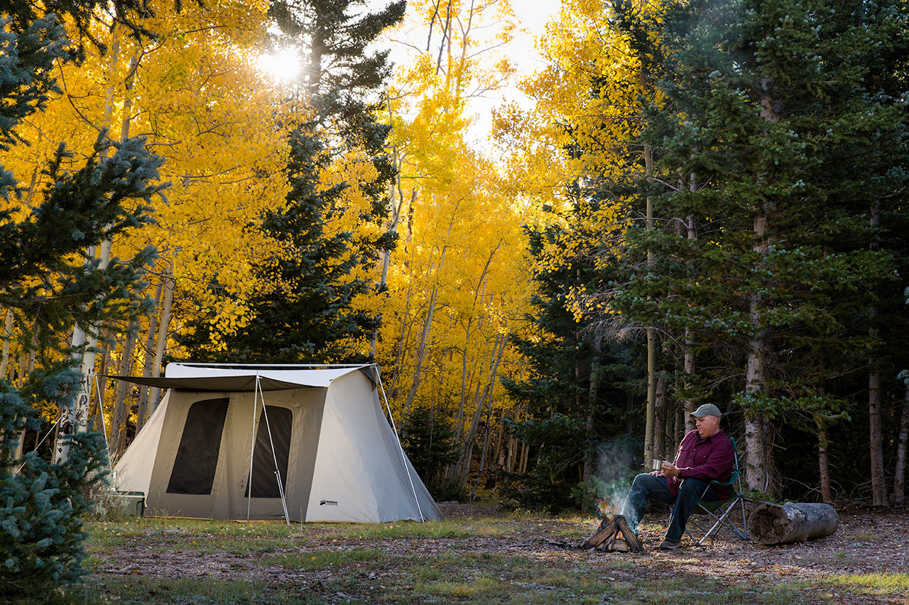 10 x 14 ft. Flex-Bow Canvas Tent - Deluxe - Estimated restock date 7/30/19