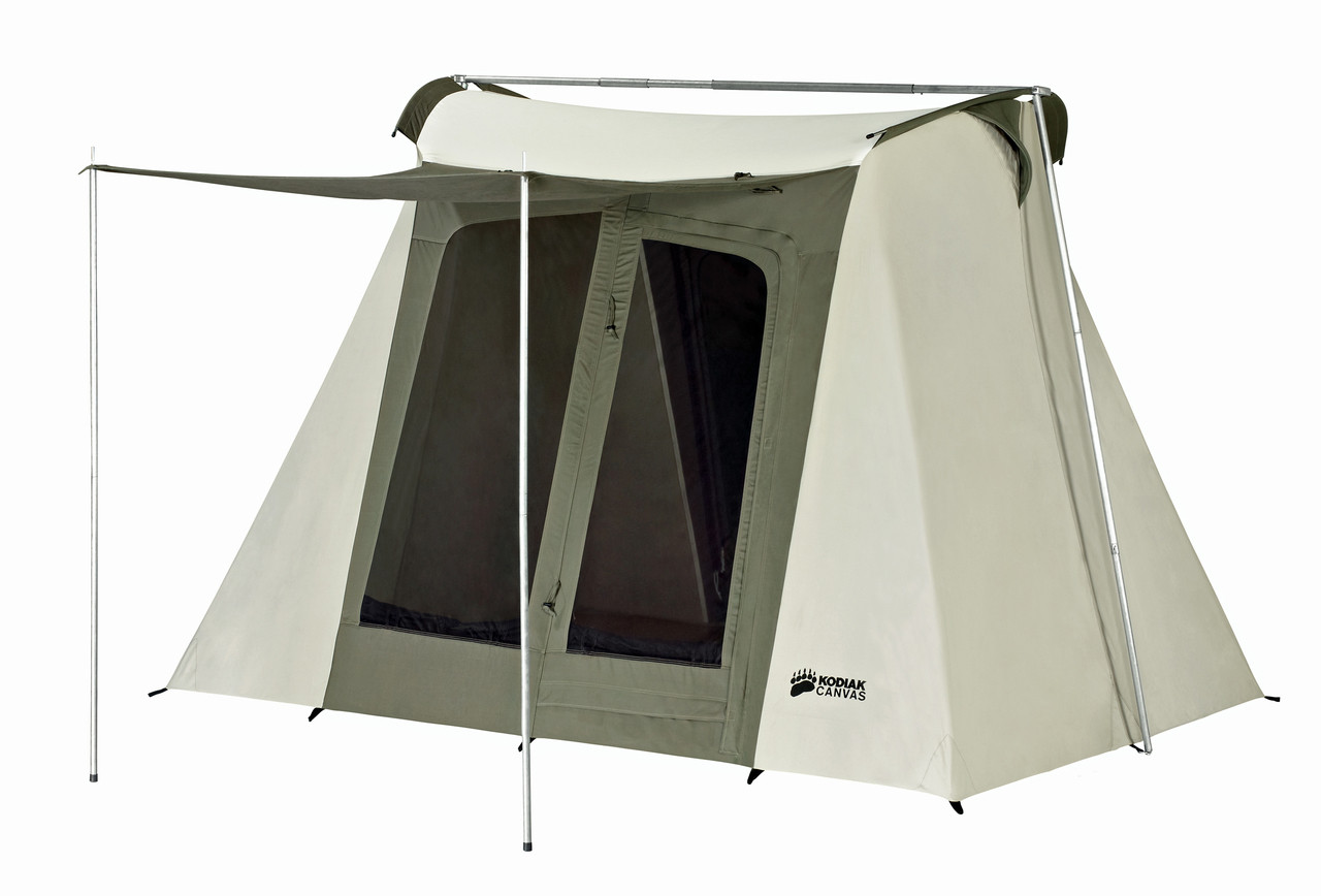 9 x 8 ft. Flex-Bow Canvas Tent - Deluxe - Estimated restock date 8/10/2019