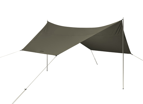 2061 Super-6 Kodiak Canvas Tarp with Pole Set