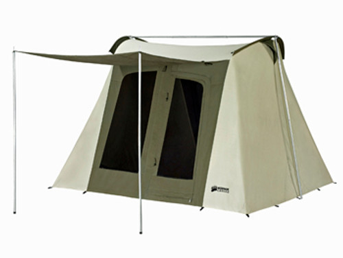 10 x 10 ft. Flex-Bow Canvas Tent Deluxe