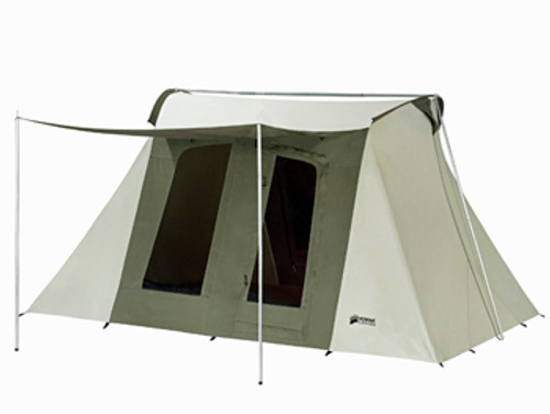 10 x 14 ft. Flex-Bow Canvas Tent Deluxe - Estimated Restock Date Nov. 11th, 2020