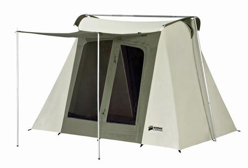 9 x 8 ft. Flex-Bow Canvas Tent Deluxe - Estimated Restock Date July 5th, 2020
