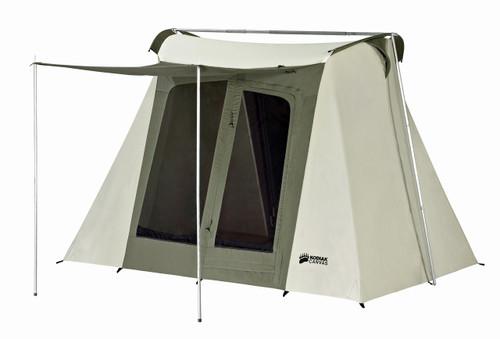 9 x 8 ft. Flex-Bow Canvas Tent Deluxe