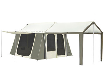 12 x 9 ft  Cabin Tent with Deluxe Awning