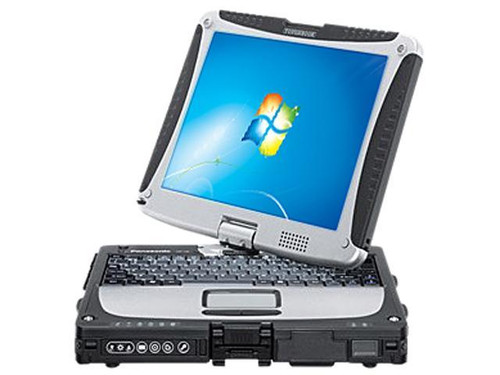 "Panasonic Laptop Toughbook CF-191HYAX1M Intel Core i5 3rd Gen 3320M (2.60 GHz) 4 GB Memory 500 GB HDD Intel HD Graphics 4000 10.1"" Windows 7 Pro"