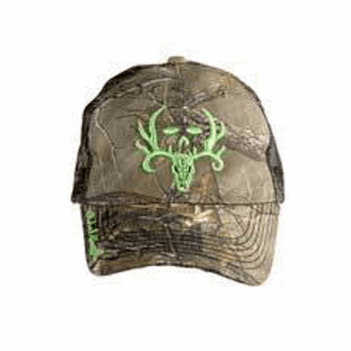 Bone Collector Green Logo and Michel Waddell Signature