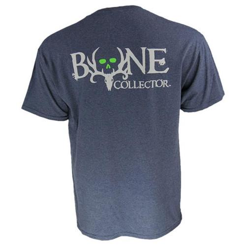 Bone Collector Logo Tee Heather Navy