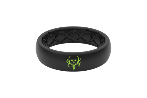 Bone Collector | Groove Life Ring | Thin Midnight Black