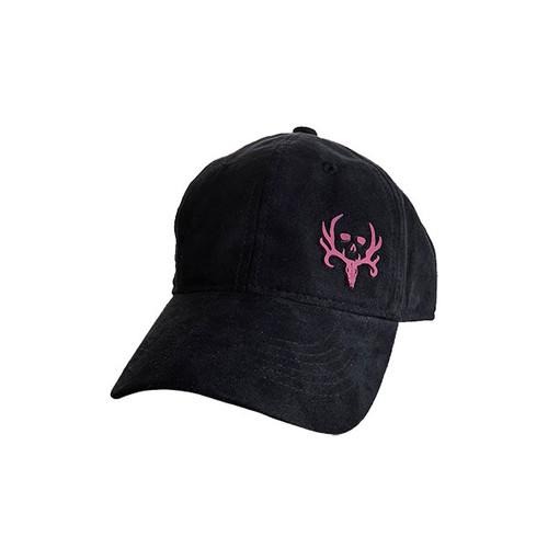 BC Women's Black Suede Cap