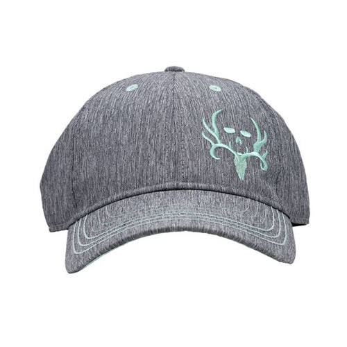 BC Heather Grey/Aqua Teal Performance Hat