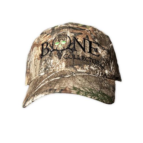 Full Camo Bone Collector Realtree Edge Adjustable Hat