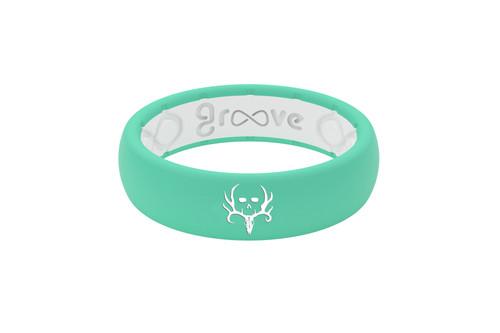 Bone Collector | Groove Life Ring | Seafoam White