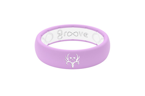 Bone Collector | Groove Life Ring | Lavender White