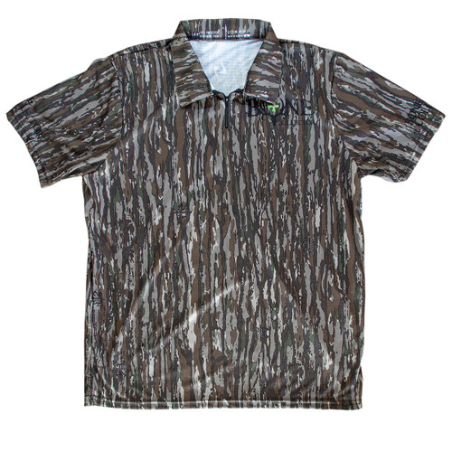 Bone Collector RT Original - Polo Zipper Short Sleeve Jersey