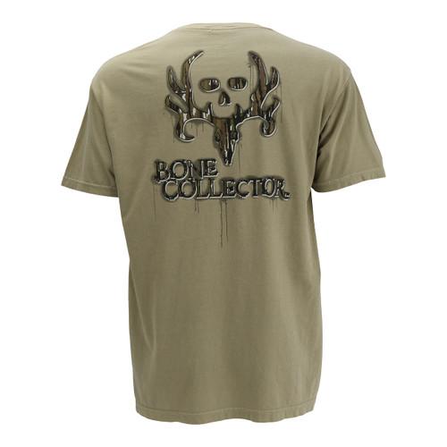 Men's BC Camo Skull Khaki Tee
