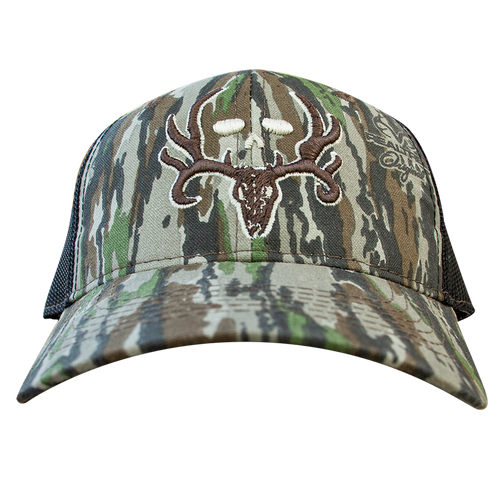 Skull and Camo RT Original Embroidered Hunt Hat