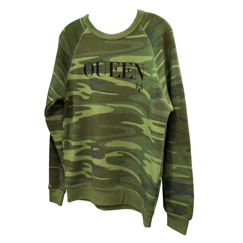BC  Generic Queen Camo Sweater