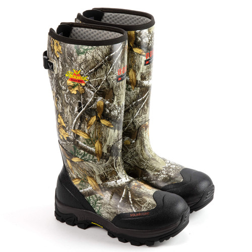 Bone Collector Thorogood Infinity FD Rubber Boots Realtree Edge